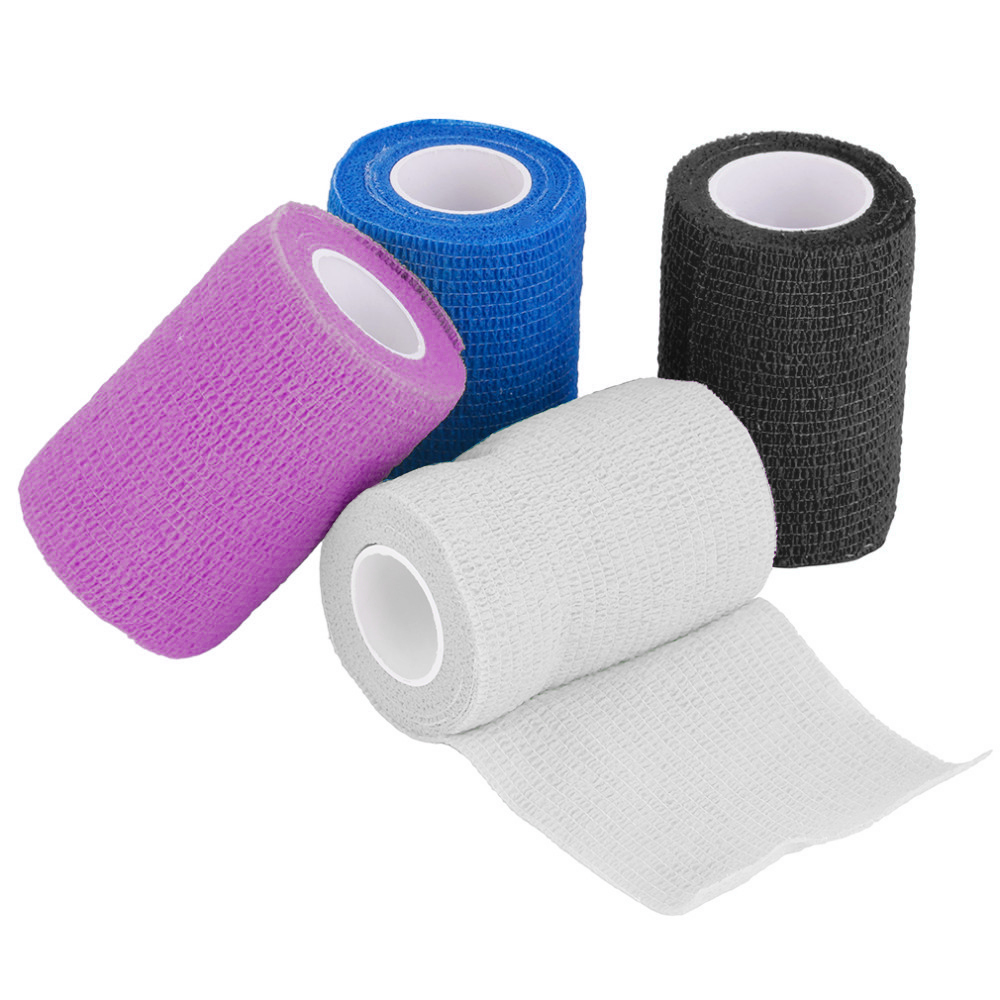 Security & Protection Honey New Security Protection Waterproof Self-adhesive Cshesive Bandages Elastic Wrap First Aid Sports Body Gauze Vet Medical Tape