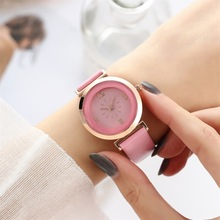 New Fashion Leather Women Watches Fresh Women Wristwatch Ladies Watch Small Dial clock bayan kol saati ulzzang fashion simple small dial dress women watch ladies girls young watch leather women wristwatch