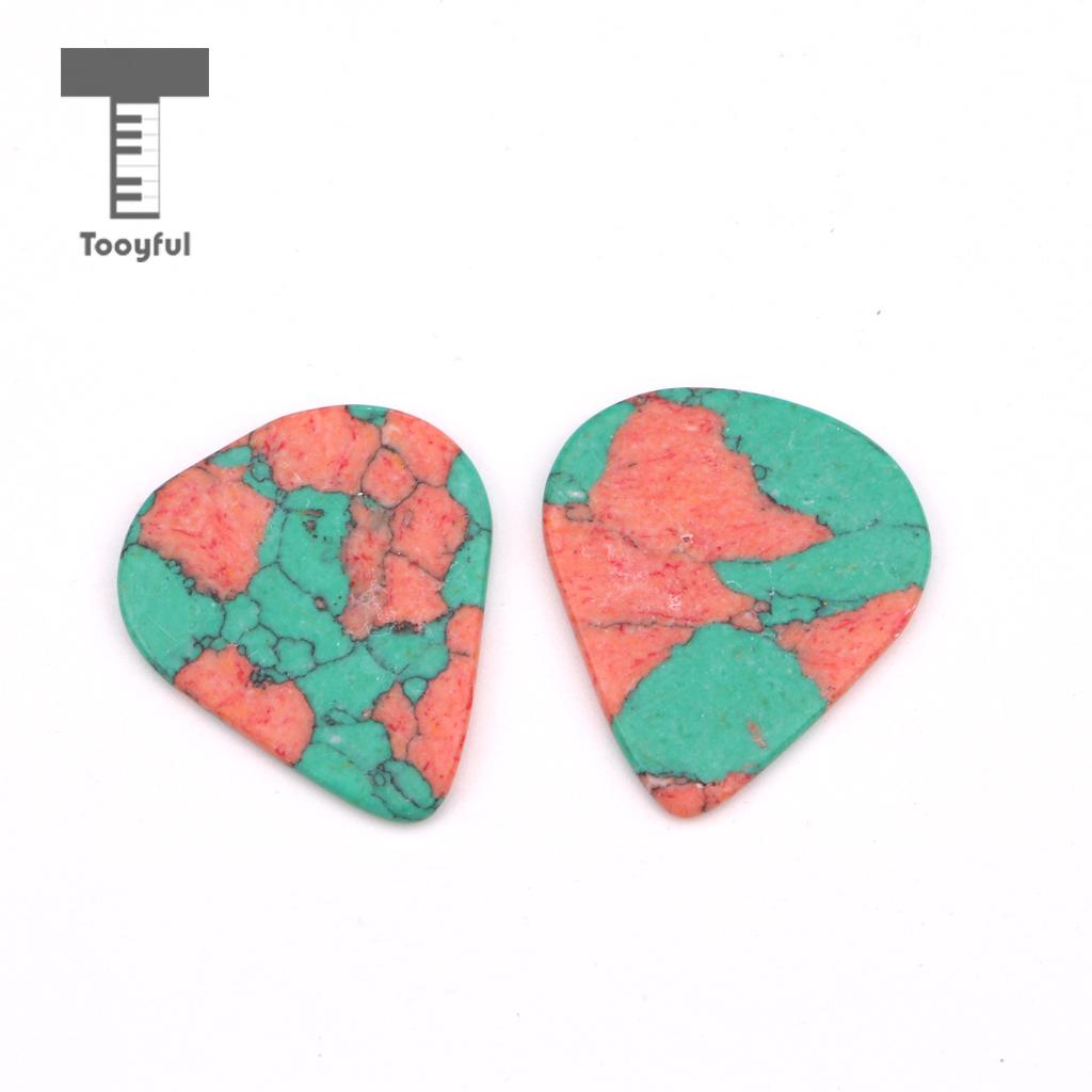 Tooyful Guitar Pick Plectrum for Acoustic Electric Guitar Green 2mm Thickness #1