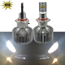 1 Set Led Headlight Kit H10 45W 4500LM Lumileds Chip LED Head light bulb White 6000K Car 9140 9145 PY20d Headlamp Led Fog Light