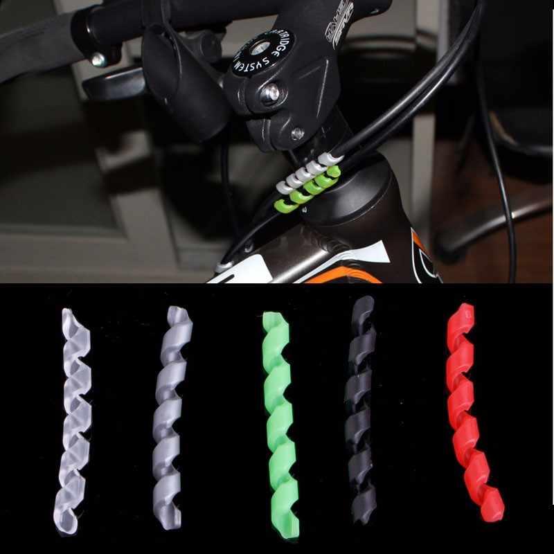 自転車ブレーキケーブルハウジングプロテクター抗摩擦バイクサイクリングラインラップ