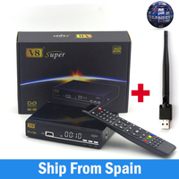 Freesat V8 Super DVB S S2 Satellite Receiver H 264 HD 1080P Receptor Satellite Support Cccamd