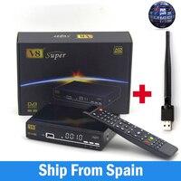 Freesat V8 Super DVB S S2 Satellite Receiver H 264 HD 1080P Receptor Satellite Support Cccamd