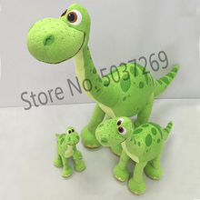 Dinosaur plush toy Arlo padded doll cartoon children Christmas birthday gift new 20-50cm