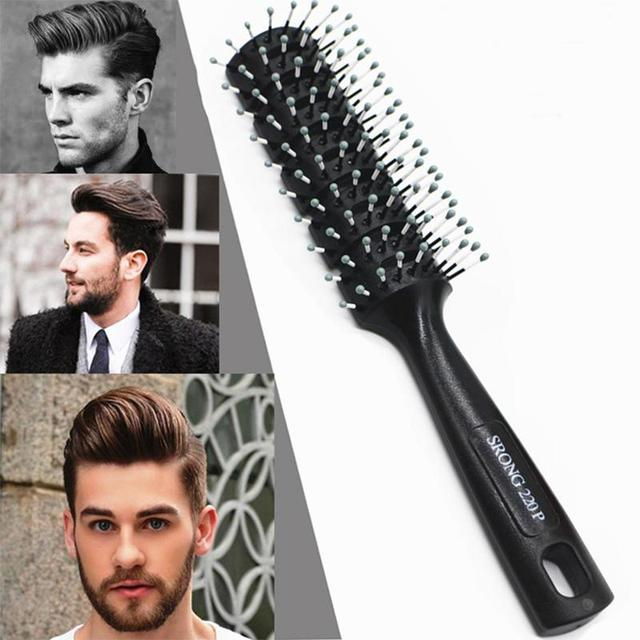 Hair Styling Brushes 1Pc Hair Combs Hair Brush Plastic Antistatic Men Hairdressing Comb .