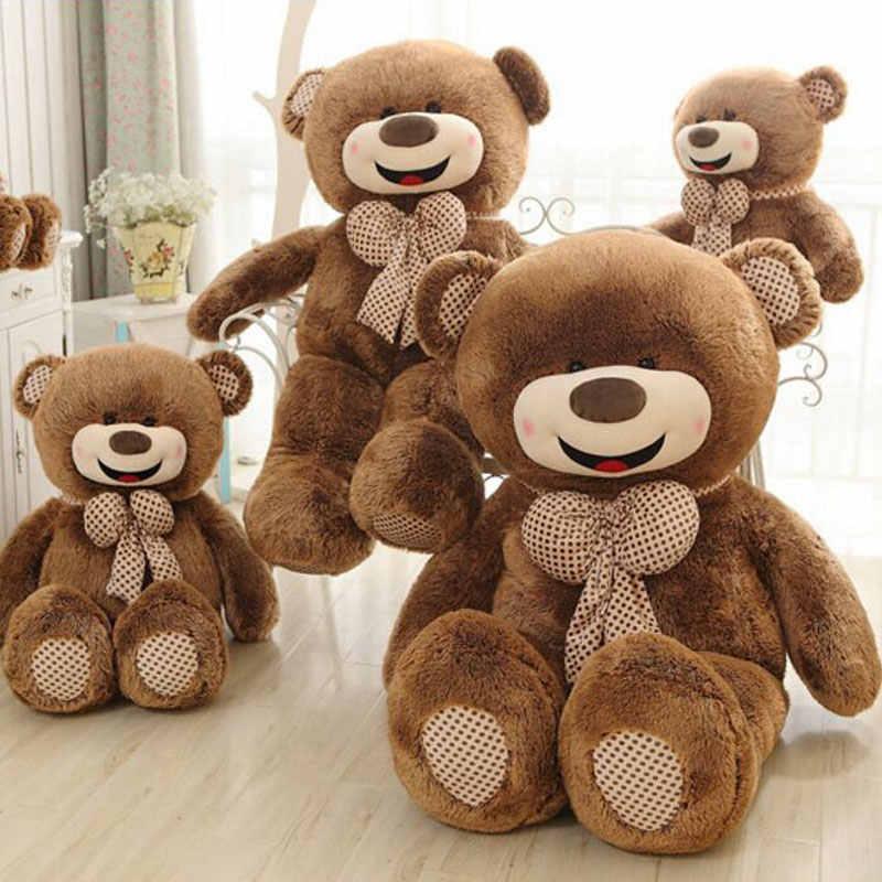Oversized 180 cm Enorme Gelukkig Teddybeer Kussen Gevulde Giant Teddybeer Knuffel Gift Pluche Ted Man Movie voor Vriendin Gift