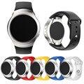 20mm luxo personalizado silicone watch strap banda para samsung galaxy gear s2 sm-r720 smart watch pulseira durável correa reloj