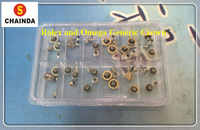 Free Shipping 24 PCs Rlx and Omg Generic Watch Crown Set for Watch Repair