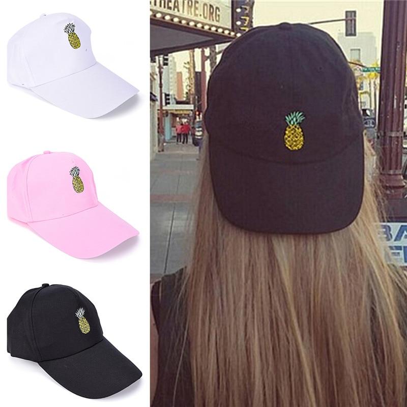 Dreamlikelin   Baseball     Cap   Adjustable Men Women Pineapple Hat Fashion Unisex Hip Hop Casual   Cap   Gifts