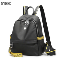High Quality Women Oxford Backpack Female Waterproof Casual Travel Backpack Girls Zipper Bags Mulheres Mochila Dos