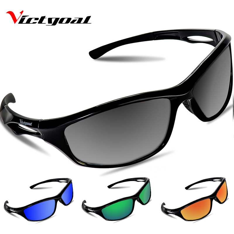 VICTGOAL Sport Sunglasses Polarized Cycling Glasses UV400 Bicycle Glasses Men Women Cycling Sunglasses Fishing Running Eyeware
