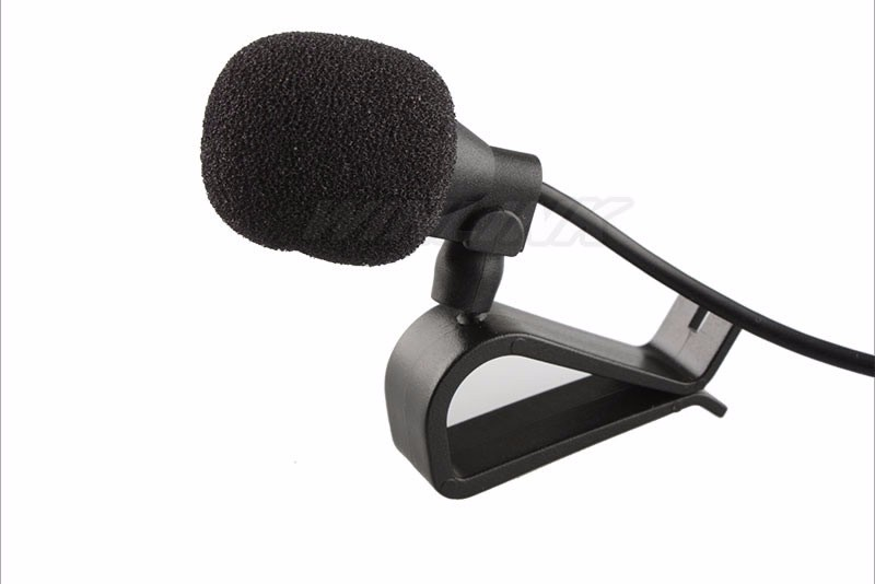 High Quality! Black Hands Free Clip on 3.5mm Mini Studio Speech Microphone For Ownice C300/C500 avs vr 246dual
