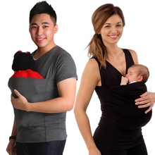 Maternity T-shirt Kangaroo Clothing For Pregnant Women Pregnancy Summer Nursing Tops Baby Carrier Clothes For Mom And Dad