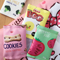 Lovely mini cartoon coin purse cookie cheeses tomato lemon cute small purse adorable women/kids coin wallet