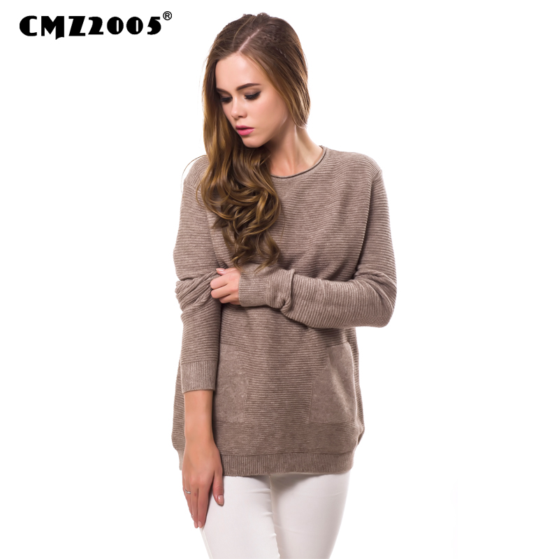Hot Sale New Women's Apparel High-Quality Casual Full Sleeve O- Neck Autumn Fashion Solid  Women Sweater 838
