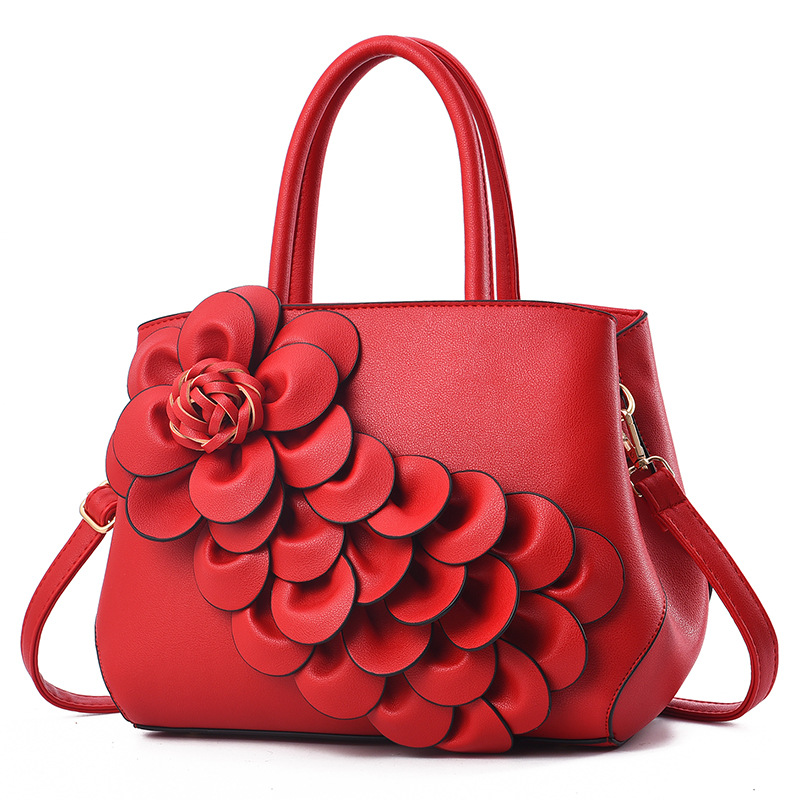 women bag Fashion Casual women's handbags Luxury handbag Designer Shoulder bags new bags for women 2018 with flowers bolsa women bag fashion casual women s leather handbags luxury handbag designer shoulder bags new bags for women 2018 bolsa feminina