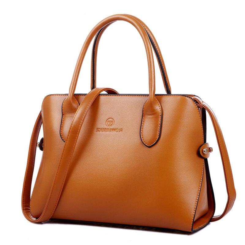 Women Occident Style font b Handbag b font Elegant Designer Shoulder Bag Exquisite PU Bag Ladies