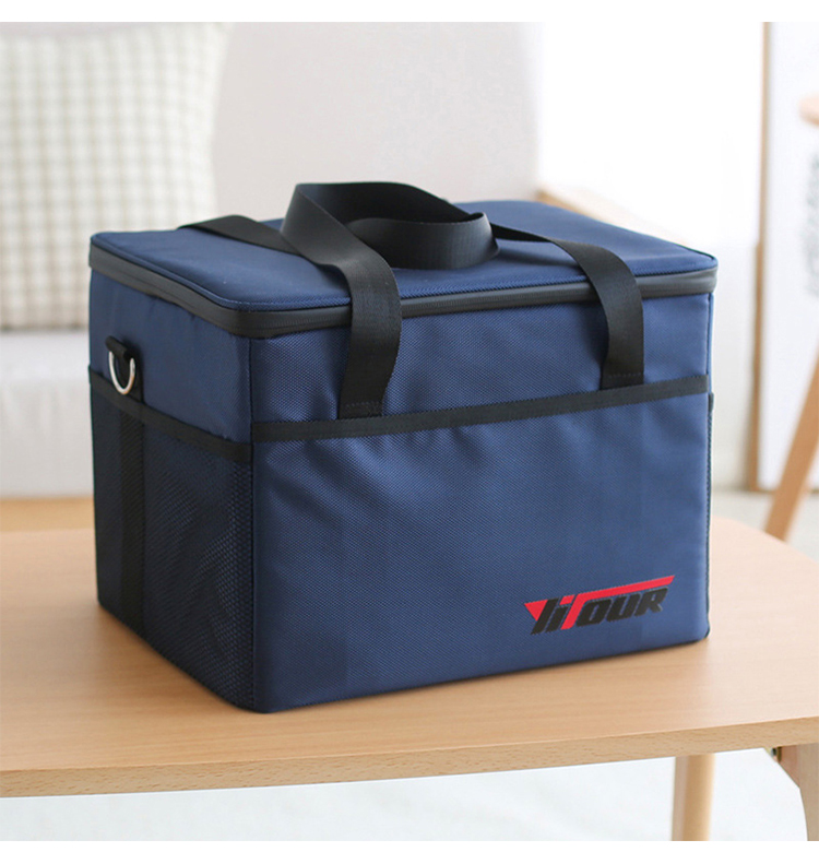 gelo pacote isolado almoço bolsa masculino tote