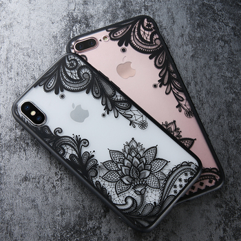 Luxury 3D Flower Cover Case For All iPhone Model 1