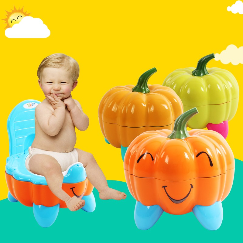 Baby Potty Training Toilet Plastic Non-slip Kids Toilet Seat Foldable Protable Travel Potty Chair Infant Children Potty Trainer penguin style baby potty toilet trainer