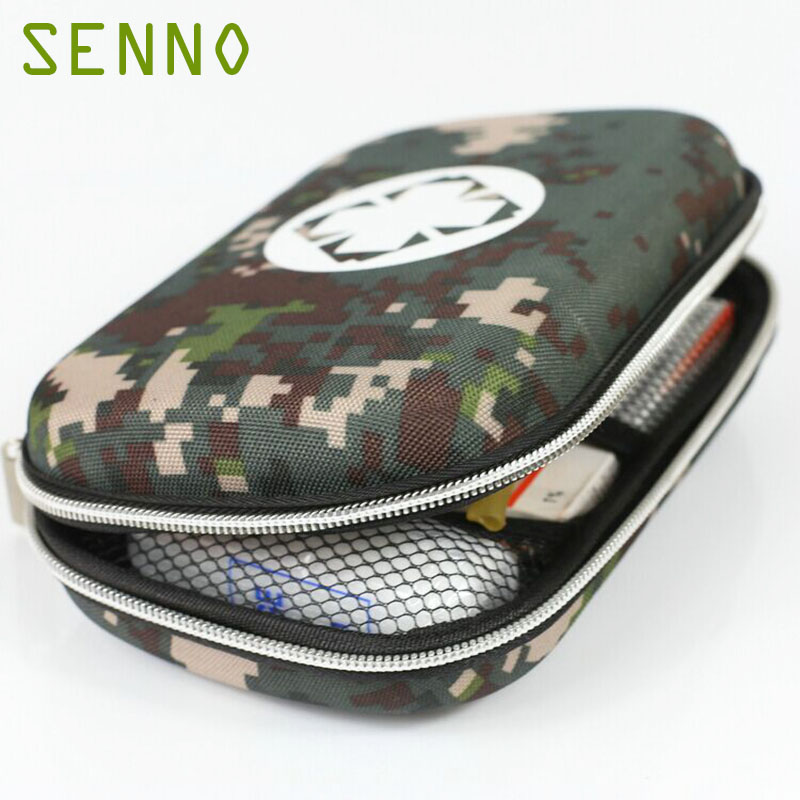 Camouflage Emergency Kits Outdoor Person Portable EVA Small First Aid Kit Bag For Family Travel Security  Medical Treatment