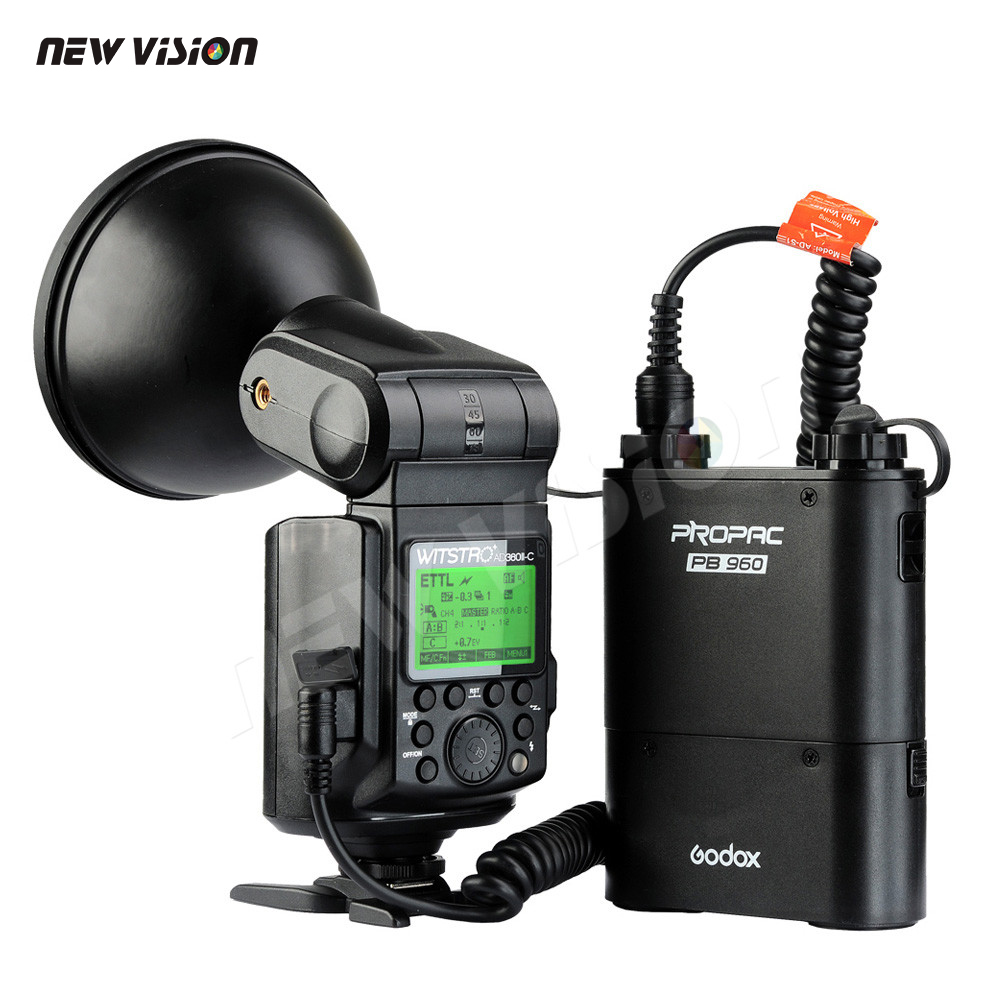 DHL Godox Witstro AD360II C TTL 360W GN80 Powerful Speedlite Flash Light for Canon EOS Camera