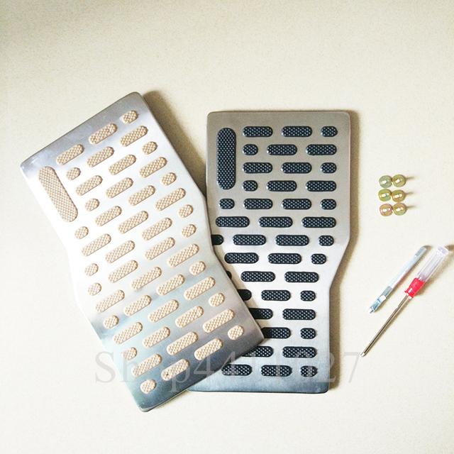 Coche Pad de aluminio Placa de pie del Pedal resto alfombras de piso para Fiat 500 grande punto 188 199 evo ducato panda 169 stilo bravo aux