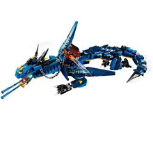 New 3 style Ninjagoes Movies Flame Spys Red Blue Dragon Compatible 70652 Building Blocks Bricks Toys Christmas Gifts