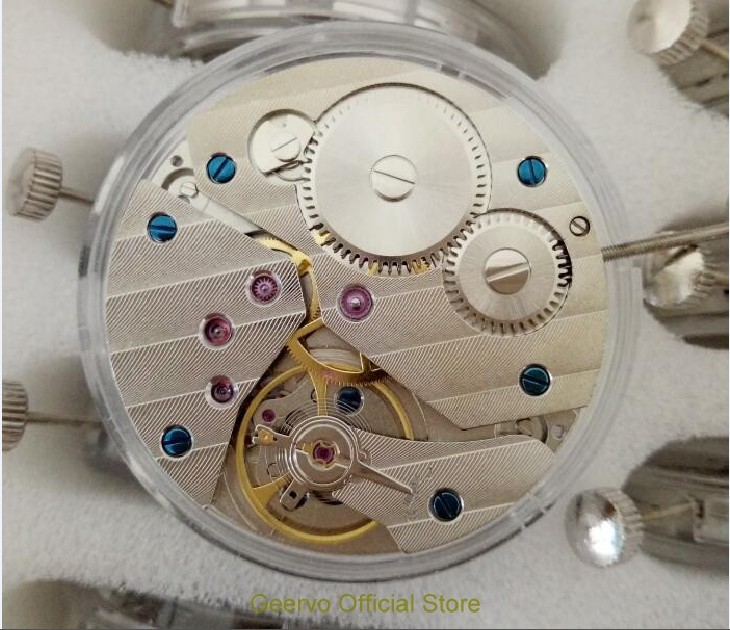 GEERVO 17 jewels mechanical 6497 hand winding Movements fit for Men s watch jx01a