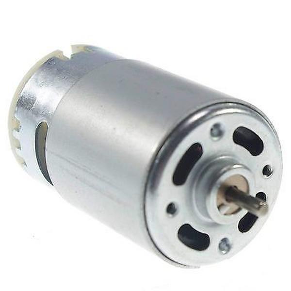 1 Uds., envío gratis, generador de turbina de Motor RS555 DC Hobby, 12 V, 5500 RPM, alto par de torsión