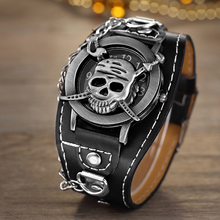 Hot Sales O.T.SEA Brand Pirate Skull Leather