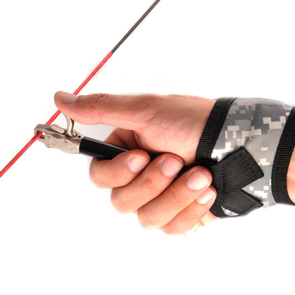 Liberação Arco composto 360 Graus Alça De Pulso Ajustável Camuflagem Lona Projetado para a Mão Esquerda e Direita Ajuste os Jovens Adultos de Tiro Com Arco