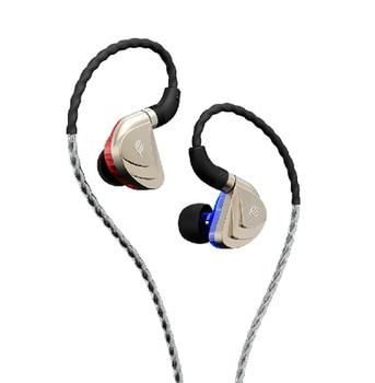 Original Fidue A83 Triple-Driver Hybrid 2 Balanced Armature+Dynamic IEMS HiFi In-Ear Earphone Noise Isolation Earphone