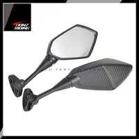 Für Yamaha YZF R1 R6 R25 R15 R125 R3 R1S R1M FZ6R Spiegel Motorrad Roller Rückspiegel Carbon Look