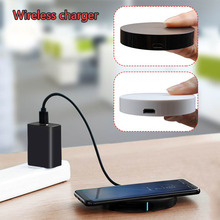 10W Qi Wireles Charger Mini Portable Mobile phone charger for iPhone 8/X/Samsung Galaxy S8 Edge Plus Android Smart Devices