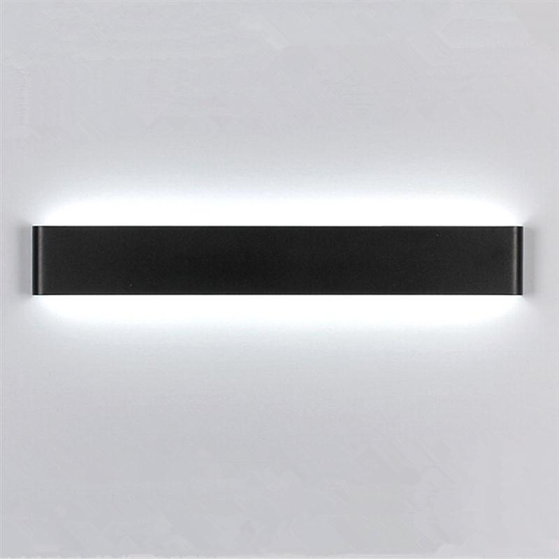 ФОТО 41CM 14W Modern Minimalist Aluminum LED Wall Lamp Bedside Hallway Bathroom Livingroom Light Home Lighting Wall Light