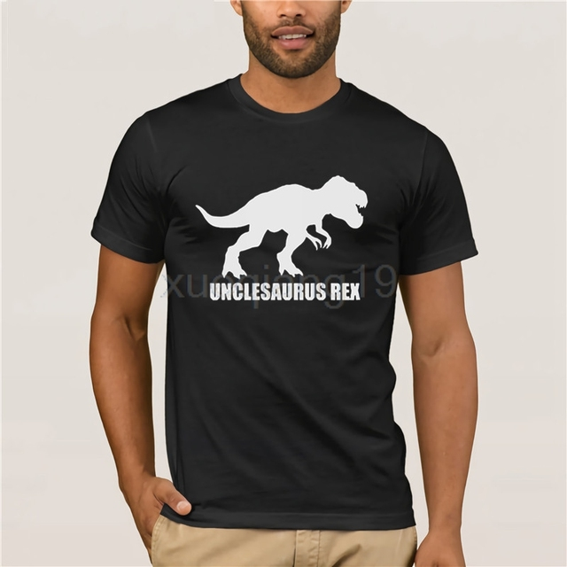 21ea6a88 Unclesaurus Rex Uncle To Be T Rex Best Uncle Funny Saying Cool Gift Men'S T  Shirt