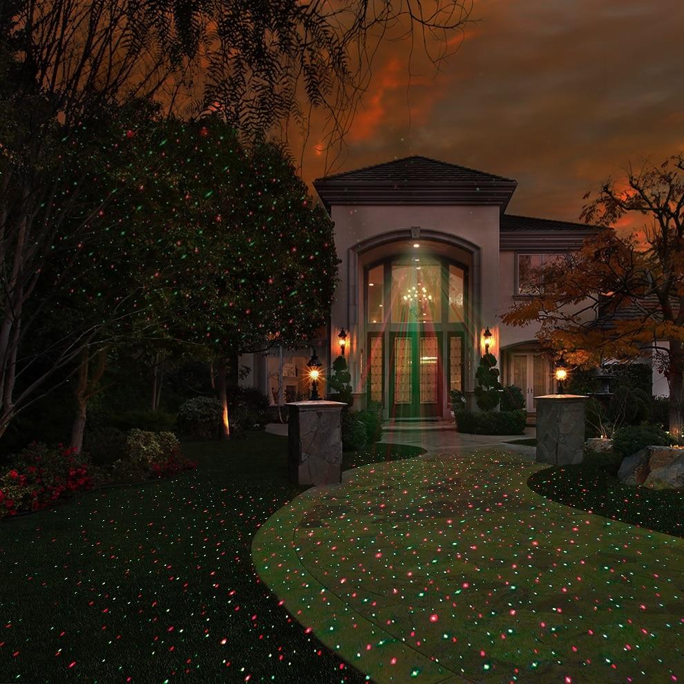 ALIEN Outdoor RG Christmas Static Star Laser Lights Projector Shower ...