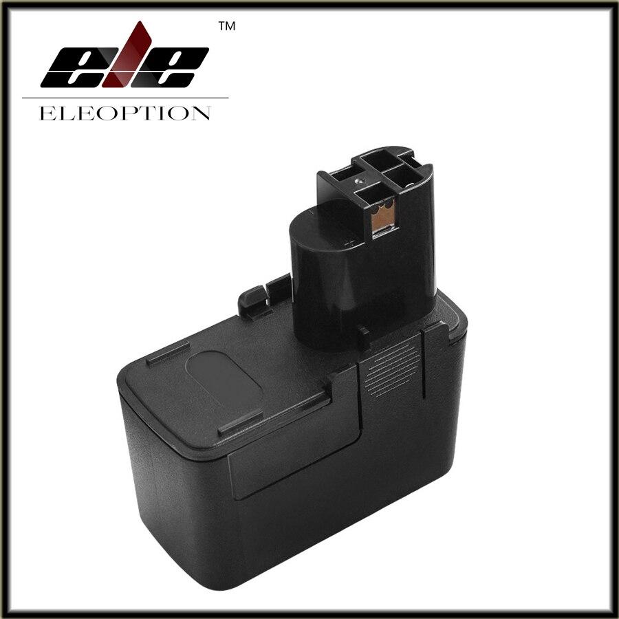 Eleoption 12 V 2500 mAh Batterie Rechargeable Ni-MH Pour Bosch BAT011 2 607 335 054 BH1214H BH1214L