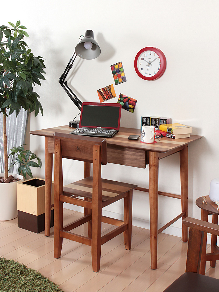 Modern Wood Computer Laptop Desk Table Workstation For Home Office Furniutre Desktop Study Table Wooden Notebook Writing Table, цена и фото