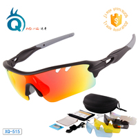 2020 새로운 스포츠 편광 선글라스 motocycle uv400 보호 고글 자전거 타기 달리기 스포츠 고글 5 렌즈