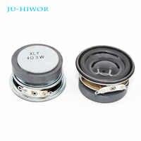 2pcs Acoustic Loudspeaker 4R 3W 40MM Speaker 36MM External Magnetic Black Hat PU Edge