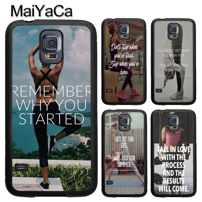 MaiYaCa Loving Bodybuilding Gym Fitness TPU Case For Samsung Galaxy S9 S8 Plus S4 S5 S6 S7 Edge Note 4 5 Note 8 Cover Back Case