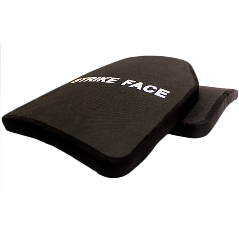 Image 3 - 2pc STA Shooter Cut NIJ III Level Bulletproof Plate Anti ballistic Ceramic PlateSelf Defense Supplies   -