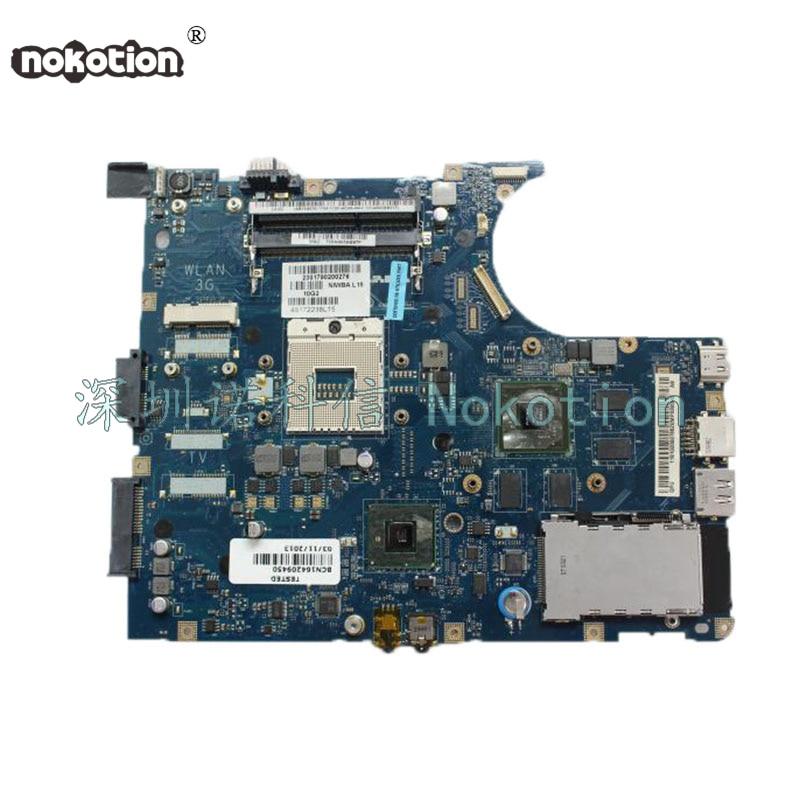 NOKOTION only Support i3 i5 CPU NIWBA LA-5371P Laptop Motherboard for Lenovo Y550 Y550P Main board HM55 tested 48 4ub01 011 laptop motherboard for lenovo u160 integrated intel intel i5 470um cpu on board hm55 ddr3 main card page 3
