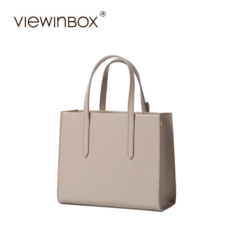 Viewinbox Split Leather Tote Bag Shoulder Bag Women Messenger Bags Fashion Handbag Famous Brands Crossbody Bags For Women 2016 women split leather handbags the waves peekaboo bags famous brands designer fashion ruffles handbag tote shoulder bag