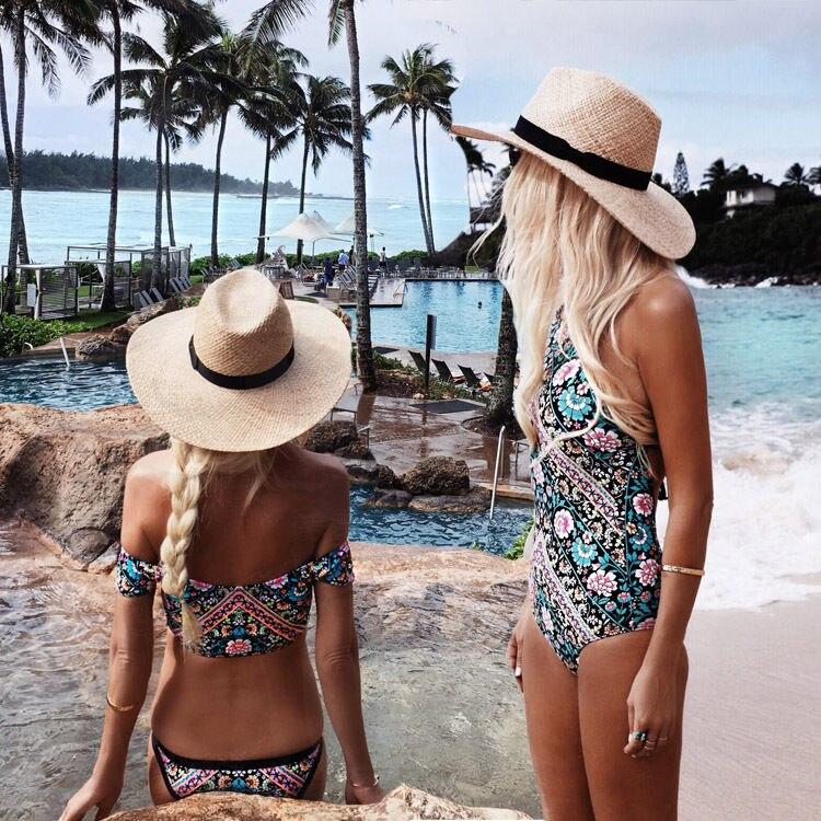 Womens Swimming Costume Padded Swimsuit Monokini Swimwear Push Up