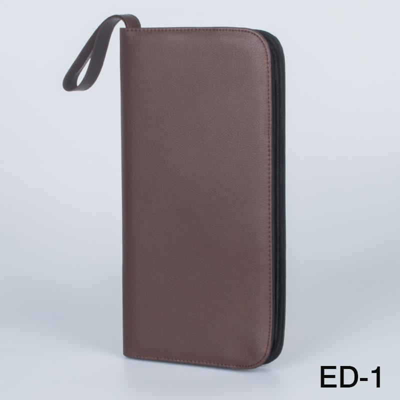 Fountain Pen/Roller Pen 36 Pens Brown Color PU Leather Case Storage Holder Bag school Office pencil bag все цены