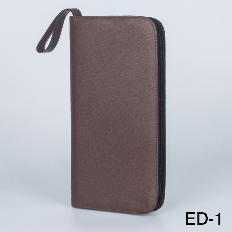Fountain Pen/Roller Pen 36 Pens Brown Color PU Leather Case Storage Holder Bag school Office pencil bag