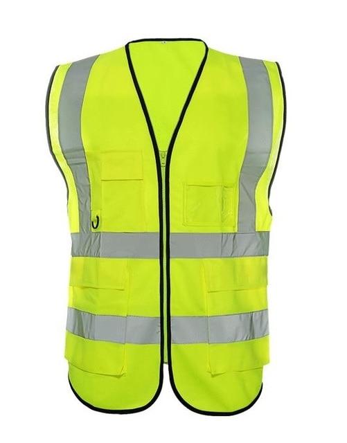 High visibility Reflective cycling traffic vests reflective safety sanitation clothing